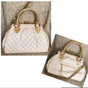 Marc Jacobs Bags - 🔥Marc Jacobs Bag Limited Edition Gold White Lamb